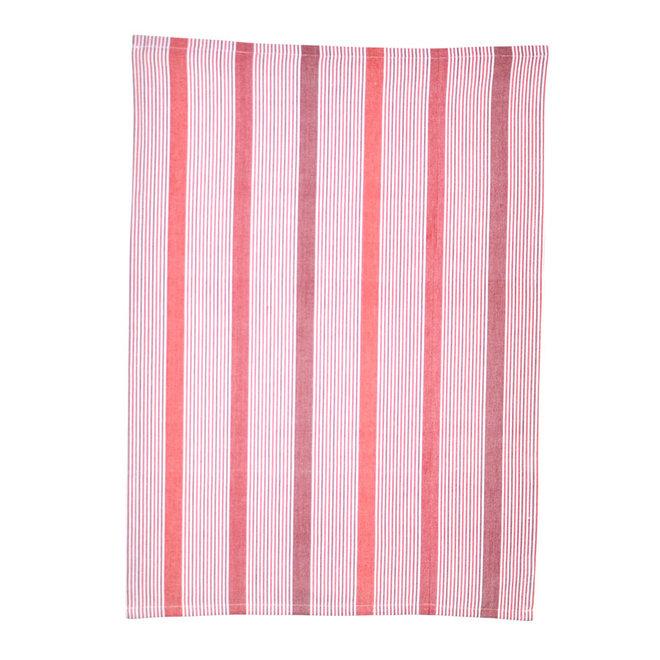 Tea towel Multi red