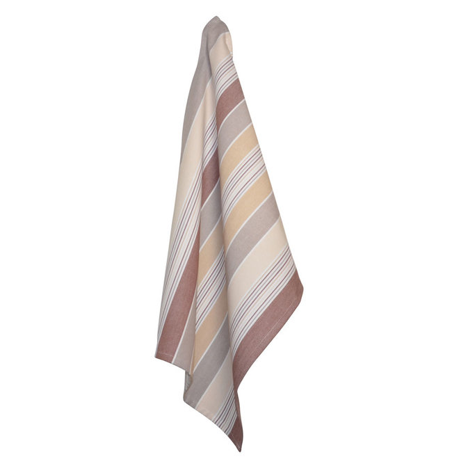 Tea towel Multi brown