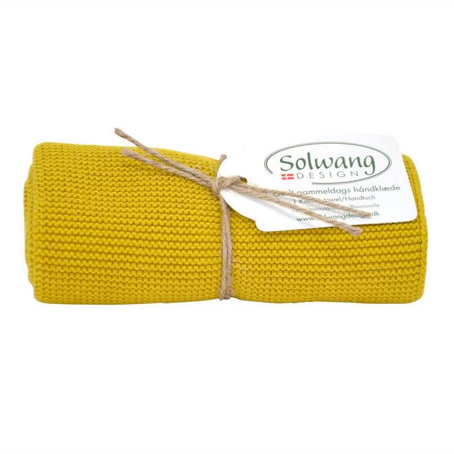 Knitted towel Saffron (H129)