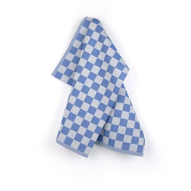 Towel check Royal Blue