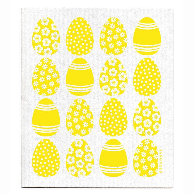 Dish Cloth Easter Eggs