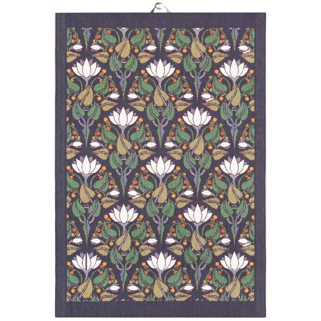Tea towel Lilies