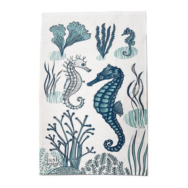 Tea towel Seahorse
