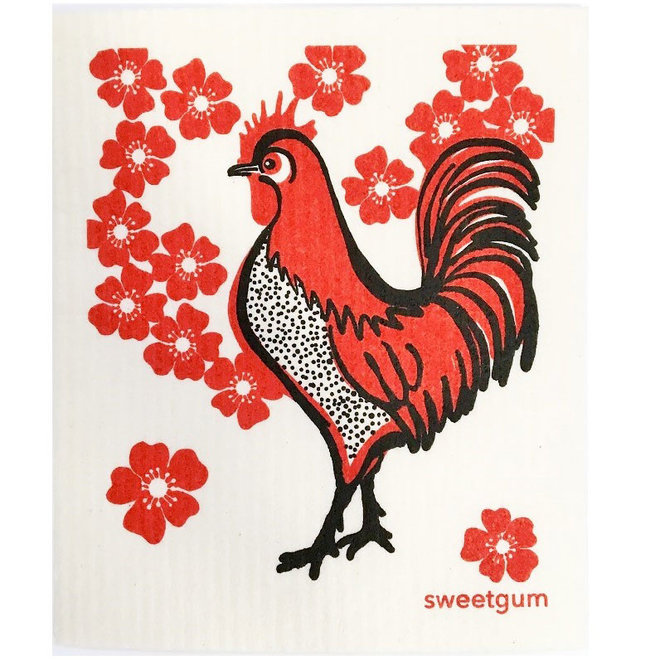 Dishcloth Rooster