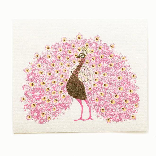 Dishcloth Peacock