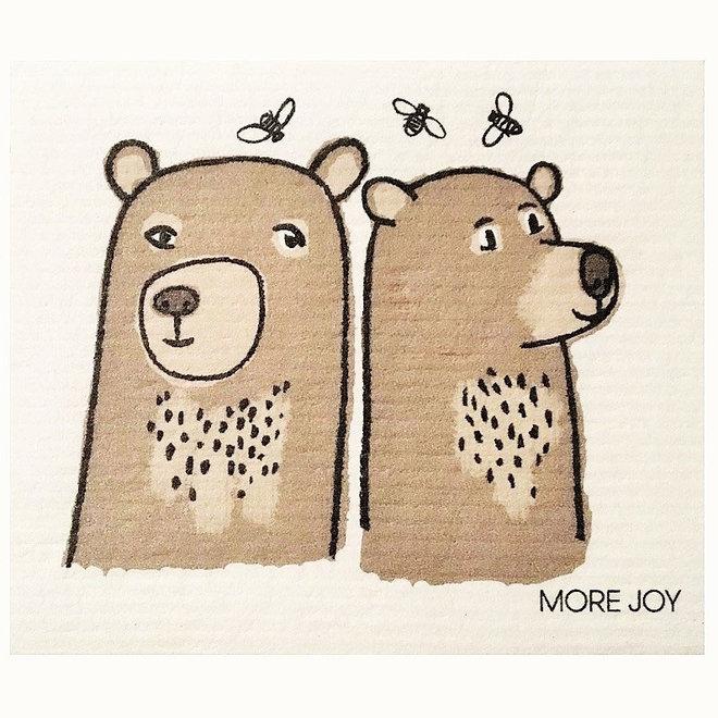 Dishcloth Friendly Bears