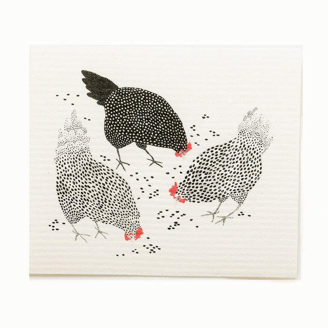 Dishcloth Chickens