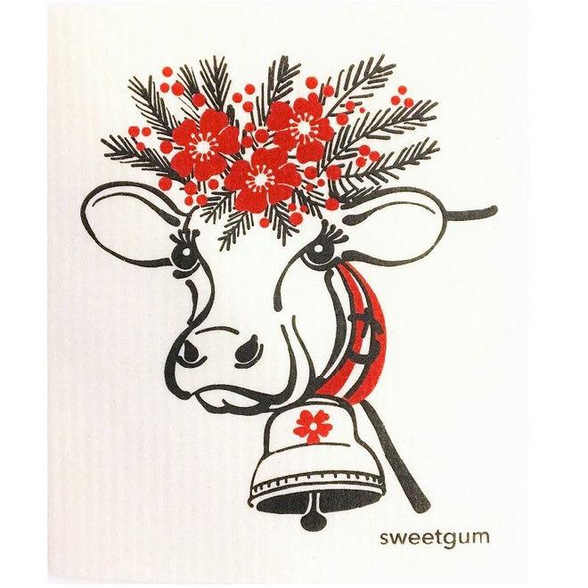 Dishcloth Happy Cow
