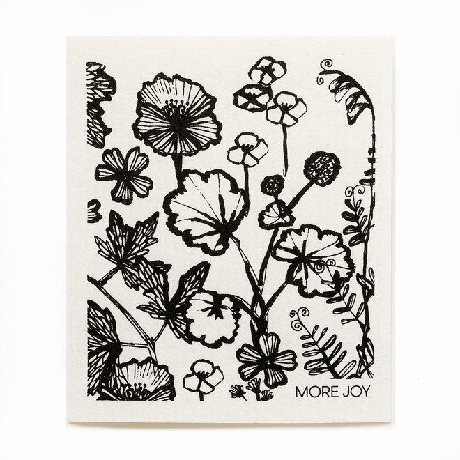 Dishcloth Siri Flowers