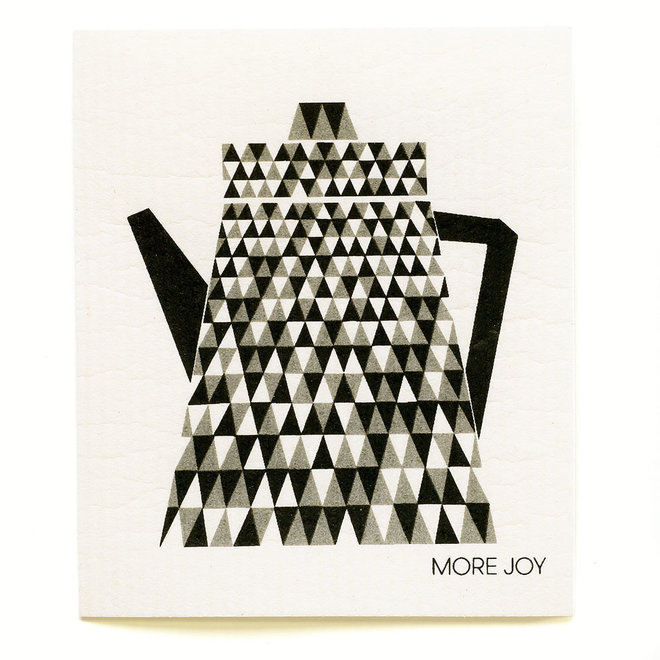 Dishcloth Teapot Black