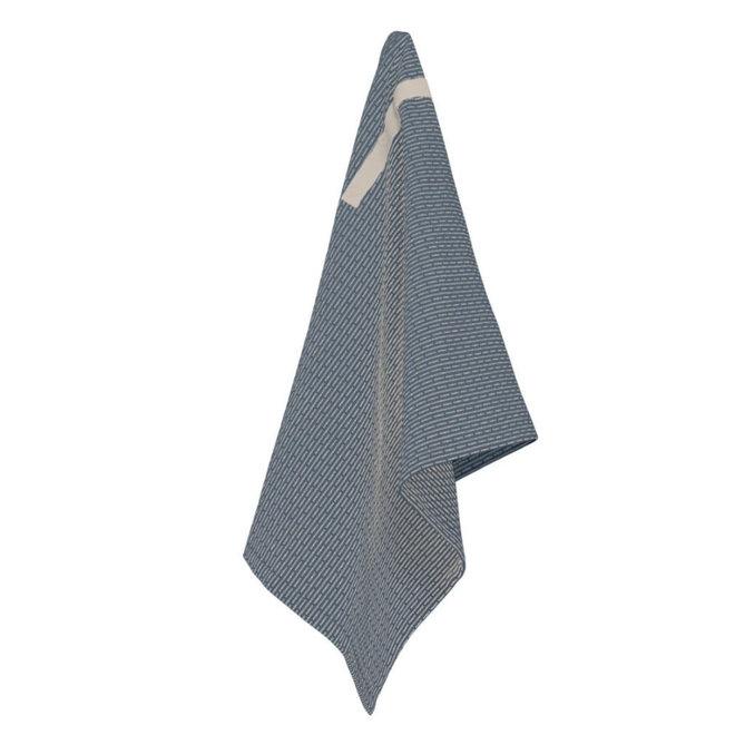 Little Towel II Grey Blue stone