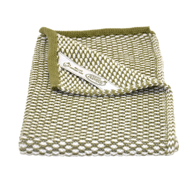 Knitted towel Olive