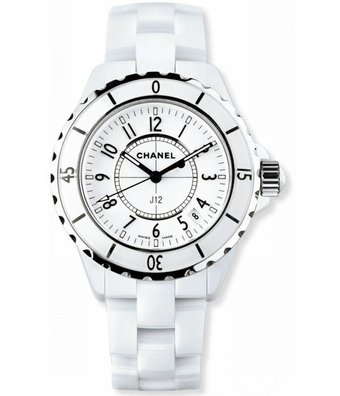 CHANEL Horloge J12 White Classic 33mm H0968