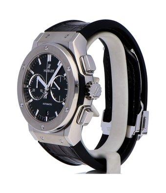 Hublot Horloge Classic Fusion 45mm Titanium Chronograph 521.NX.1171.LROCC
