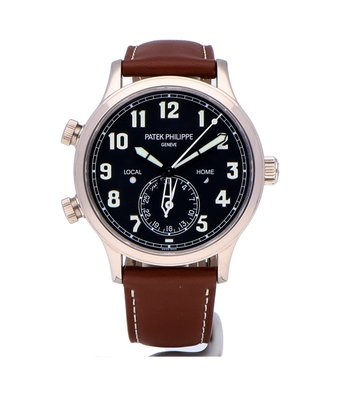 Patek Philippe Horloge Complications Men Calatrava Pilot Travel Time 5524G-001OCC