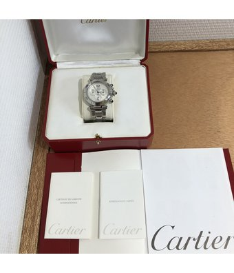 Cartier Pasha 38 Chronograph 2113OCC