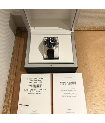IWC Horloge Pilot's Watch 43 Chronograph IW377709OCC