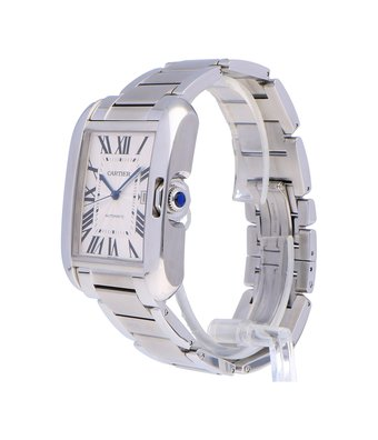 Cartier Horloge Tank Anglaise LM W5310008OCC