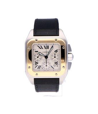 Cartier Horloge Santos 100 XL Chronograph W20091X7OCC