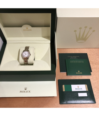 Rolex Horloge Oyster Perpetual Classic Pearlmaster 29 80319-0077