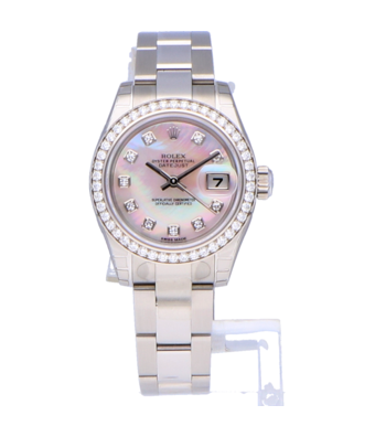 Rolex Horloge Oyster Perpetual Classic Lady-Datejust 26 179384-0020