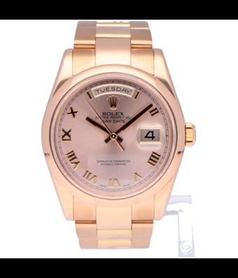 Rolex Horloge Oyster Perpetual Classic Day-Date 36 118205OCC
