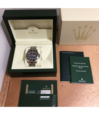 Rolex Horloge Oyster Perpetual Professional GMT-Master II 40 116710LNOCC
