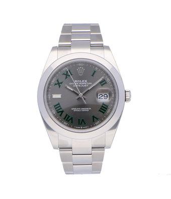Rolex Horloge Oyster Perpetual Classic Datejust II 41 126300-0013OCC