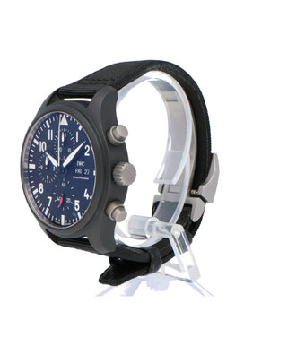 IWC Horloge Pilot's Watch 45mm Top Gun Chronograph IW389101