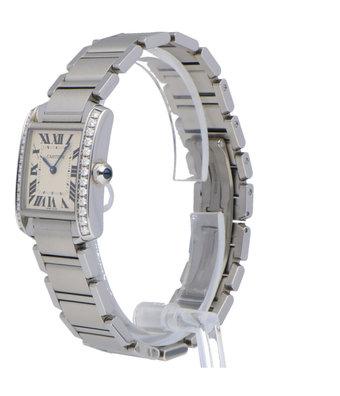 Cartier Horloge Tank Française W4TA0009
