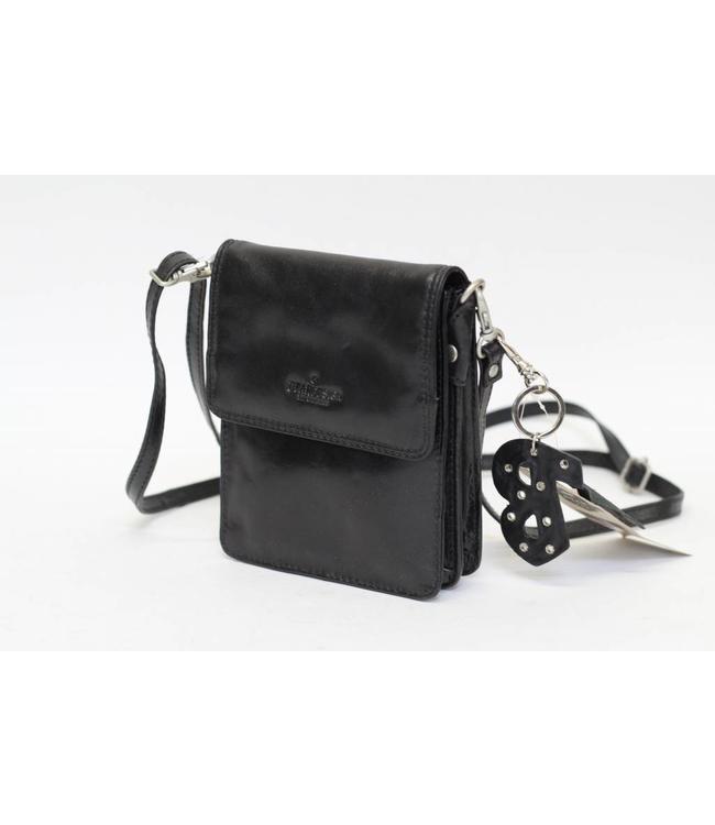 Bear Design Klein schoudertasje RO5402 Zwart