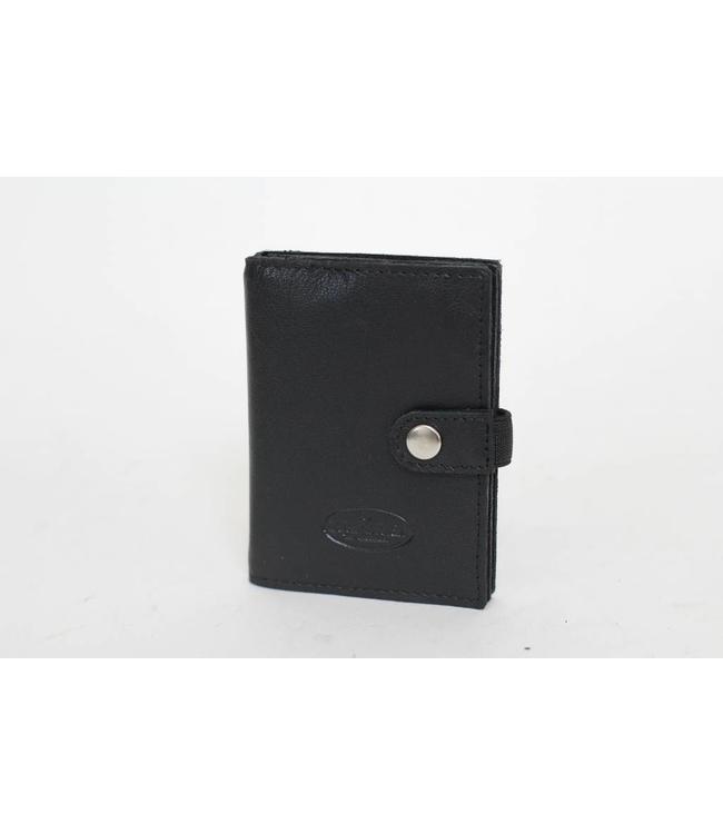Bear Design Pasjesmapje met geldclip Zwart NH2200