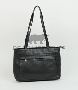 Bear Design Handtasche B1299 Schwarz