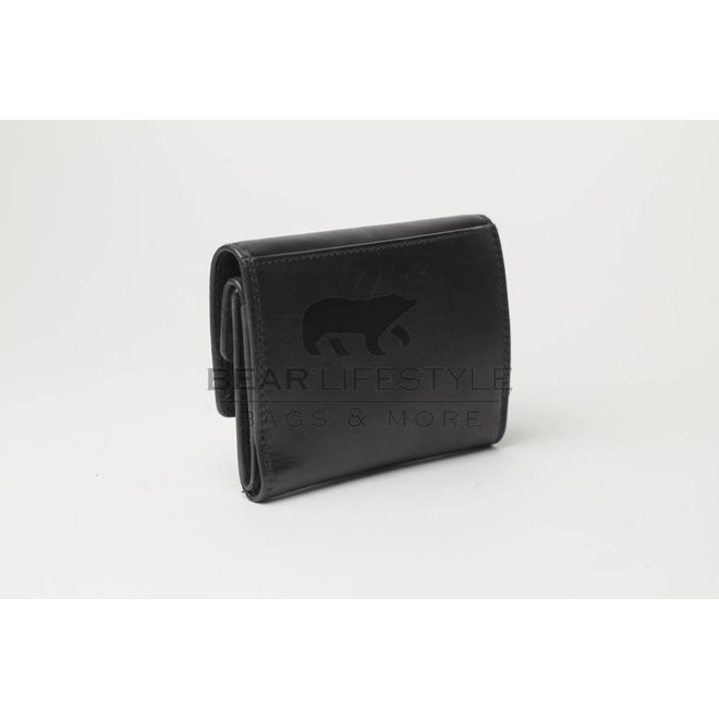 Losgeld/Bak Portemonnee M9523 Zwart