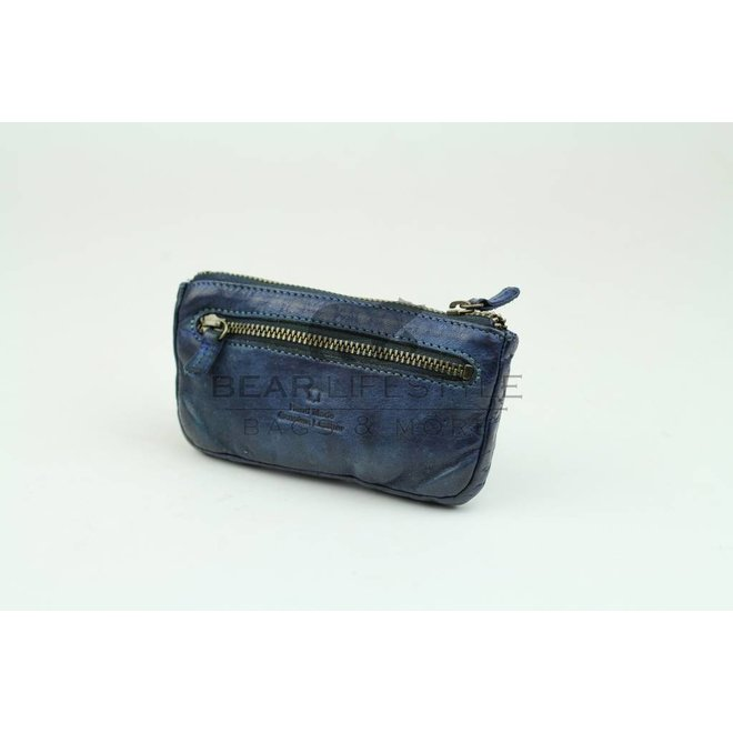 Sleutel/Losgeld Portemonnee CL7616 XL - Blauw