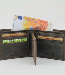 Bear Design Anti-Skim Kreditkartenetui HD14580 Braun