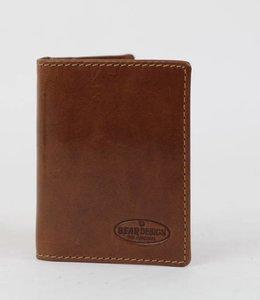 Bear Design Mini Wallet RO 9171 Cognac