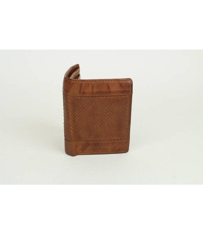 Bear Design Billfold hoog - Cognac GR10853