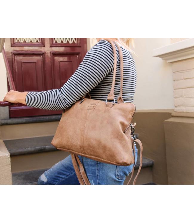 Bear Design Handtasche/Schultertasche Bona CP1177 Taupe