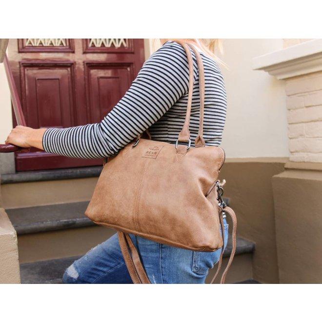 Handtasche/Schultertasche Bona CP1177 Taupe