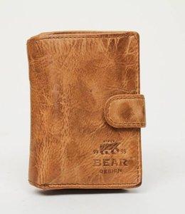 Bear Design Portemonnaie CL527 Beige