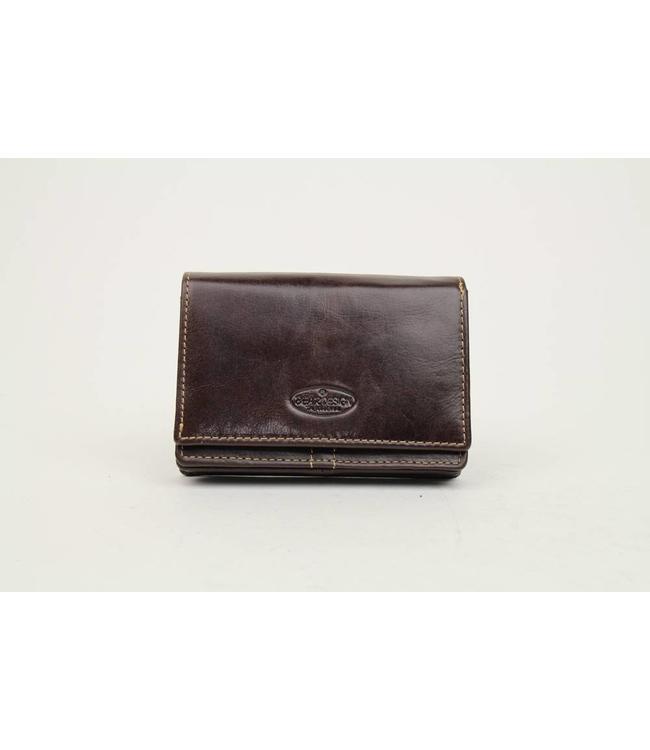 Bear Design Kleines Portemonnaie RO2080 Braun