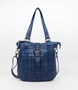 Bear Design Hand-/Schoudertas 'Ella' - Blauw CL32650
