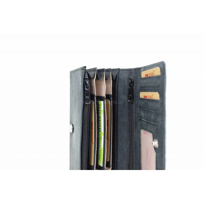 Portemonnaie Cow HH9918-3 Schwarz