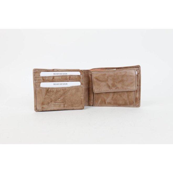 Brieftasche CL14966 Hazelnut