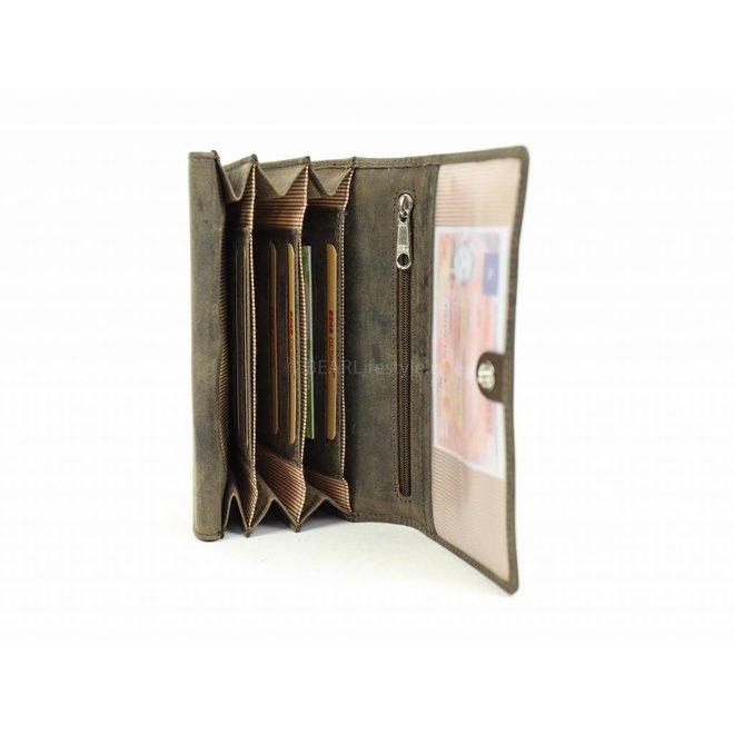 Huishoudportemonnee/Overslag - HD9662 Bruin
