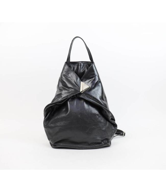 Bear Design Vouw-rugzakje RO6150 Zwart 'Lisa'