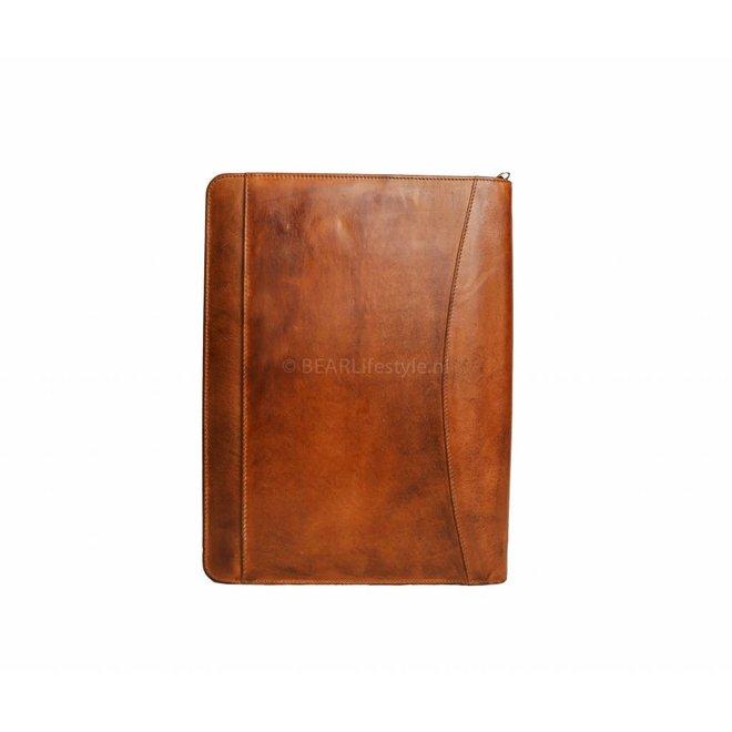 Schreibmappe A4 - CL7793 Cognac