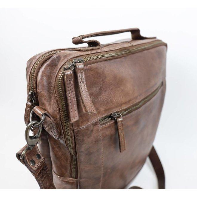 CL35278 Laptoptasche / Rucksack 'Celso' Braun