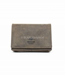 Bear Design Kleine Damesportemonnee - Bruin HD2080